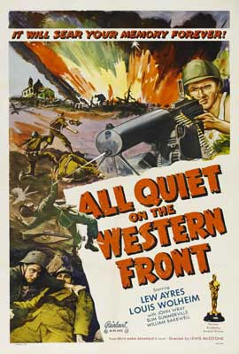 All Quiet on the Western Front - 27 x 40 Movie Poster - Style E