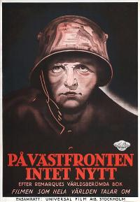 All Quiet on the Western Front - 27 x 40 Movie Poster - Swedish Style A