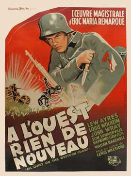 All Quiet on the Western Front - 11 x 17 Movie Poster - French Style A