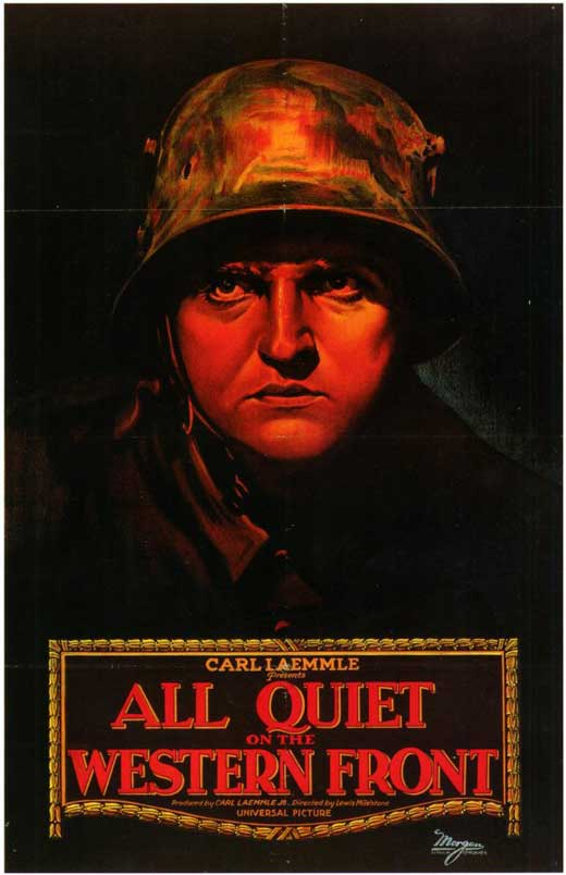 essay on all quiet on the western front movie Think about the concept of enemies in war whom do paul and his friends regard as their enemies check out the whole all quiet on the western front essay.