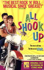 All Shook Up (Broadway) - 11 x 17 Poster - Style A