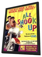 All Shook Up (Broadway) - 27 x 40 Poster - Style A - in Deluxe Wood Frame