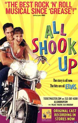 All Shook Up (Broadway) - 27 x 40 Poster - Style A