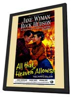 All That Heaven Allows - 11 x 17 Movie Poster - Style A - in Deluxe Wood Frame