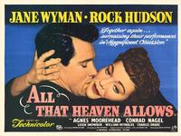 All That Heaven Allows - 11 x 14 Movie Poster - Style A