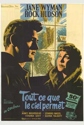 All That Heaven Allows - 27 x 40 Movie Poster - French Style A