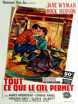 All That Heaven Allows - 27 x 40 Movie Poster - French Style B
