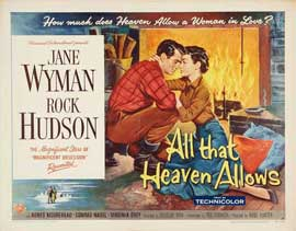 All That Heaven Allows - 11 x 14 Movie Poster - Style B