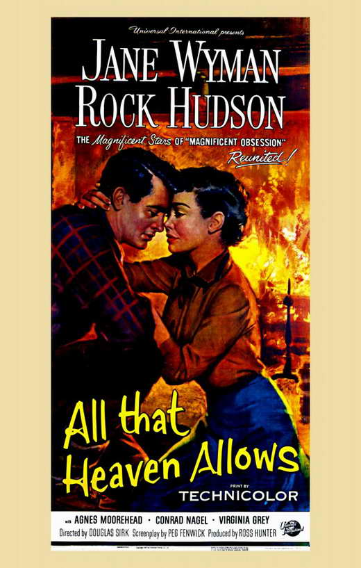 All That Heaven Allows Movie Posters From Movie Poster Shop