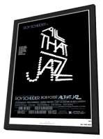 All That Jazz - 27 x 40 Movie Poster - Style A - in Deluxe Wood Frame