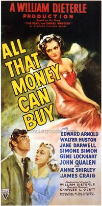 All That Money Can Buy - 27 x 40 Movie Poster - Style A