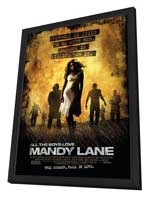 All the Boys Love Mandy Lane - 27 x 40 Movie Poster - Style A - in Deluxe Wood Frame