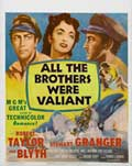 All the Brothers Were Valiant - 11 x 14 Movie Poster - Style A
