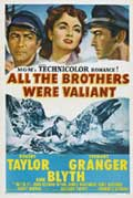 All the Brothers Were Valiant - 27 x 40 Movie Poster - Style A