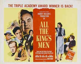 All the King's Men - 22 x 28 Movie Poster - Half Sheet Style A