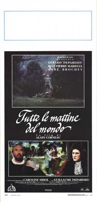 All the Mornings of the World - 13 x 28 Movie Poster - Italian Style A