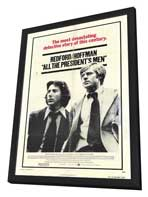 All the President's Men - 11 x 17 Movie Poster - Style A - in Deluxe Wood Frame