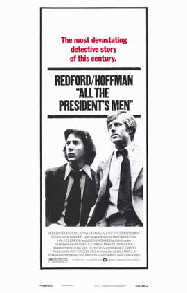 All the President's Men - 11 x 17 Movie Poster - Style B