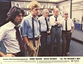 All the President's Men - 11 x 14 Movie Poster - Style D