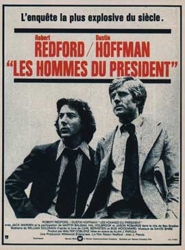 All the President's Men - 11 x 17 Movie Poster - French Style A