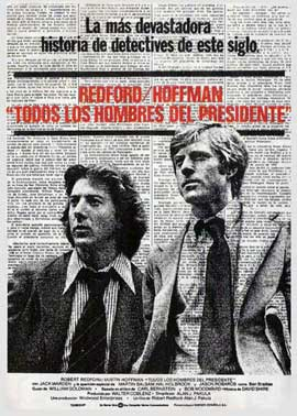 All the President's Men - 11 x 17 Movie Poster - Spanish Style A