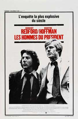 All the President's Men - 11 x 17 Movie Poster - Belgian Style A