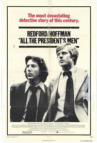 All the President's Men - 11 x 17 Movie Poster - Style A - Museum Wrapped Canvas