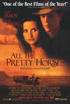 All the Pretty Horses - 27 x 40 Movie Poster - Style B