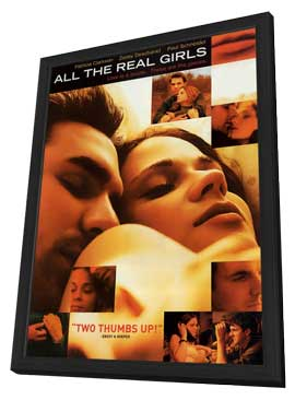 All The Real Girls - 27 x 40 Movie Poster - Style A - in Deluxe Wood Frame