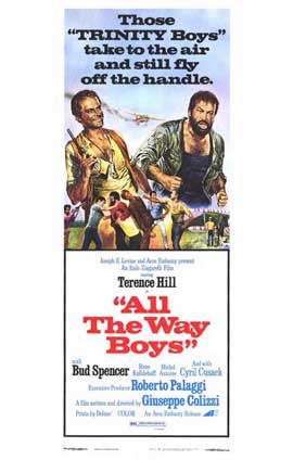 All the Way, Boys - 11 x 17 Movie Poster - Style A