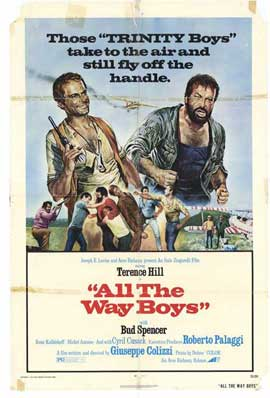 All the Way, Boys - 27 x 40 Movie Poster - Style A