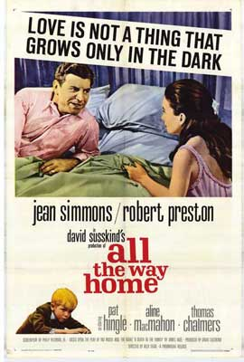 All the Way Home - 27 x 40 Movie Poster - Style A