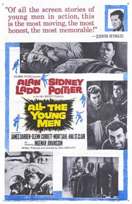 All the Young Men - 11 x 17 Movie Poster - Style A