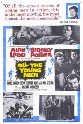 All the Young Men - 27 x 40 Movie Poster - Style A