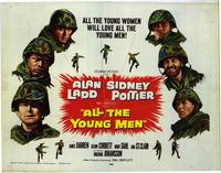 All the Young Men - 22 x 28 Movie Poster - Half Sheet Style B