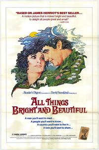 All Things Bright and Beautiful - 11 x 17 Movie Poster - Style B