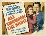 All Through the Night - 11 x 17 Movie Poster - Style B