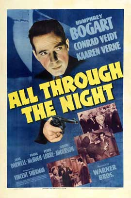 All Through the Night - 11 x 17 Movie Poster - Style F