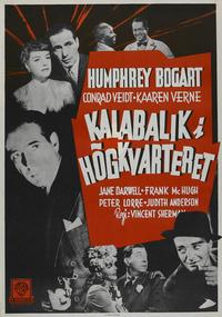 All Through the Night - 27 x 40 Movie Poster - Swedish Style G