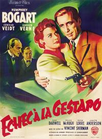 All Through the Night - 27 x 40 Movie Poster - French Style D