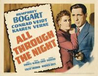 All Through the Night - 22 x 28 Movie Poster - Half Sheet Style A