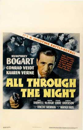 All Through the Night - 11 x 17 Movie Poster - Style C
