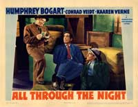 All Through the Night - 11 x 14 Movie Poster - Style B