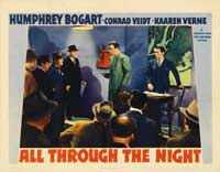 All Through the Night - 11 x 14 Movie Poster - Style C
