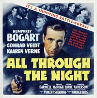 All Through the Night - 30 x 30 Movie Poster - Style A