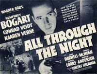 All Through the Night - 22 x 28 Movie Poster - Half Sheet Style B