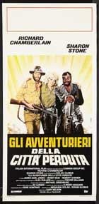 Allan Quatermain and the Lost City of Gold - 20 x 40 Movie Poster - Italian Style A