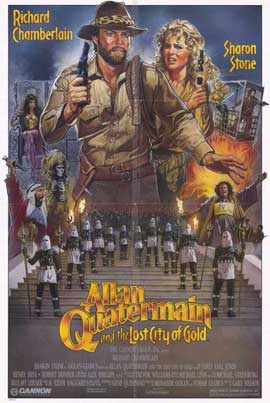 Allan Quatermain and the Lost City of Gold - 11 x 17 Movie Poster - Style A