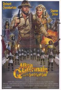 Allan Quatermain and the Lost City of Gold - 27 x 40 Movie Poster - Style A