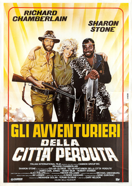 Allan Quatermain and the Lost City of Gold - 11 x 17 Movie Poster - Italian Style A
